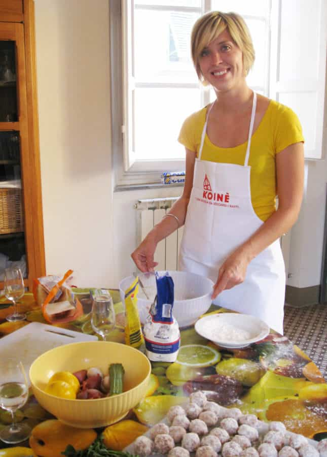 Attending a cooking class organized by the Koinè Center in Lucca, Italy // FoodNouveau.com