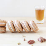 Maple and Pecan French Macarons // FoodNouveau.com