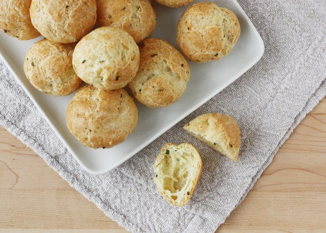 Classic Gougères (French Cheese Puffs!) // FoodNouveau.com