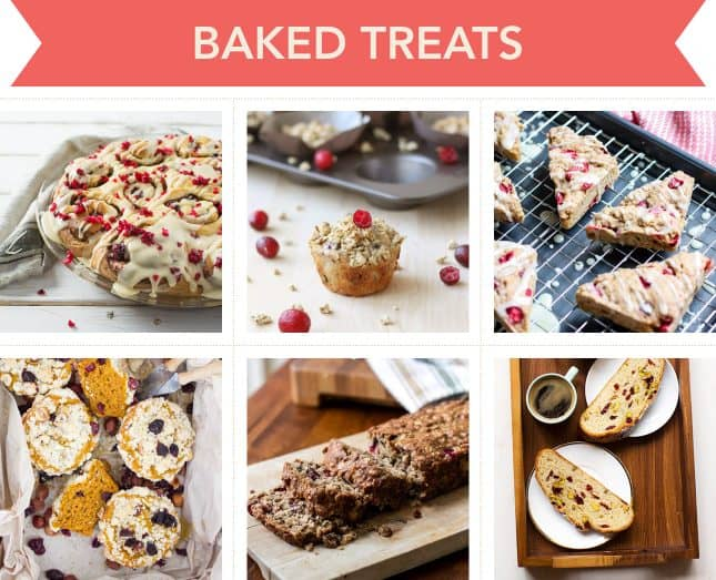 Holiday-worthy recipes to make baked treats with cranberries // FoodNouveau.com