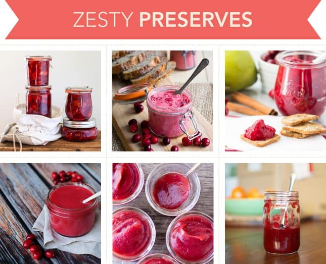 Holiday-worthy recipes to make zesty preserves with cranberries // FoodNouveau.com