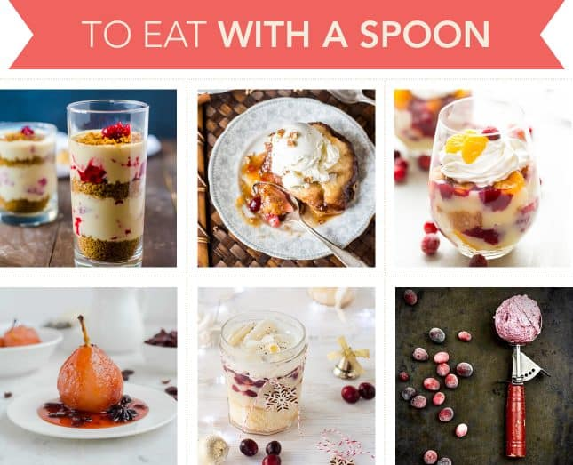 Holiday-worthy recipes to make dessert with cranberries you'll eat with a spoon // FoodNouveau.com