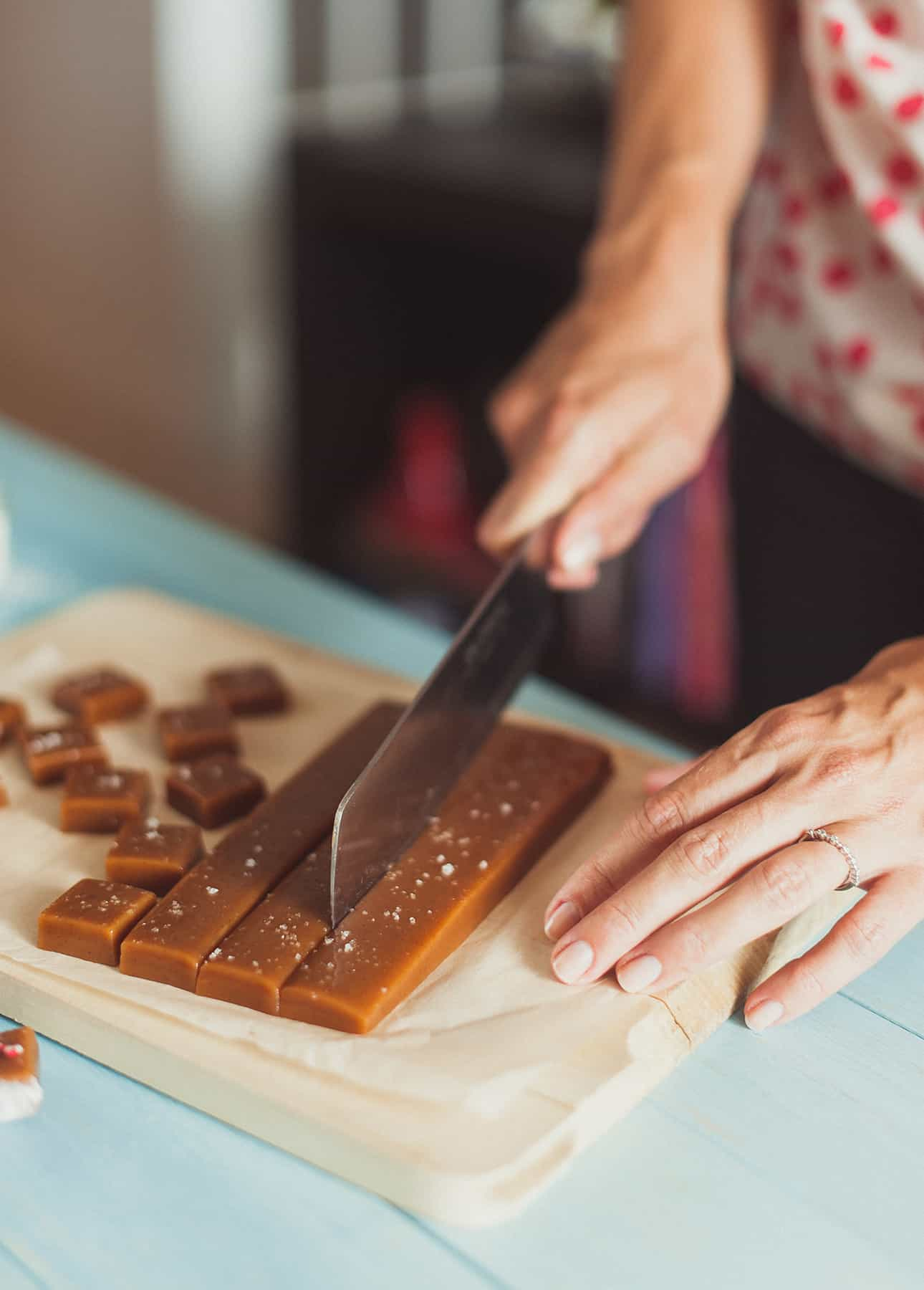 Perfect Homemade Gift: Salted Butter Caramels // FoodNouveau.com