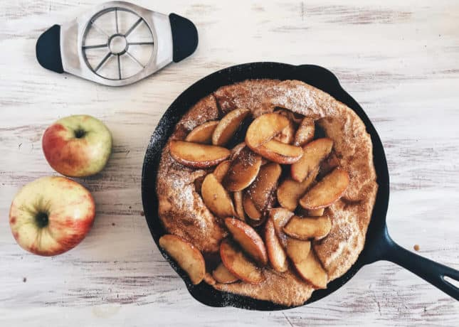 Caramelized Dutch Apple Baby, by The Messy Baker // FoodNouveau.com