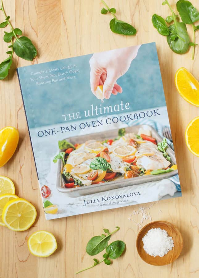 The Ultimate One-Pan Oven Cookbook, by Julia Konovalova from the blog Imagelicious // FoodNouveau.com