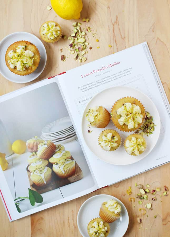 Lemon Pistachio Muffins, from Oh Sweet Day! A Celebration Cookbook // FoodNouveau.com
