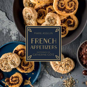 French Appetizers Cookbook, by Marie Asselin