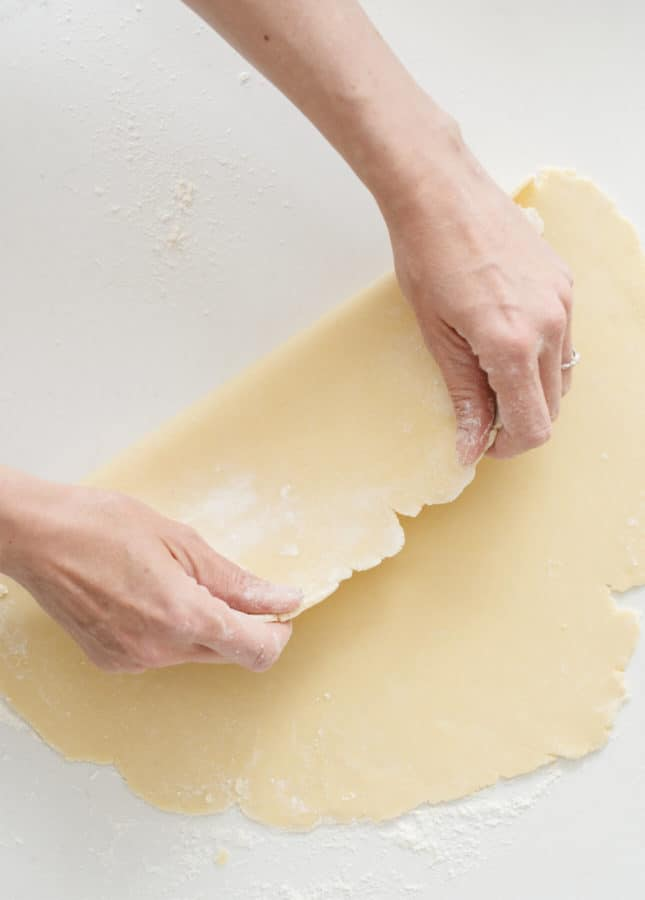 How to Make Foolproof Shortcrust Pastry (Food Processor Method) // FoodNouveau.com