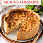 Classic and Elegant French Recipe: How to Make Quiche Lorraine // FoodNouveau.com