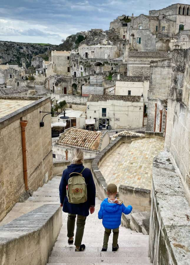 Walking through the breathtaking city of Matera, in the South of Italy // FoodNouveau.com