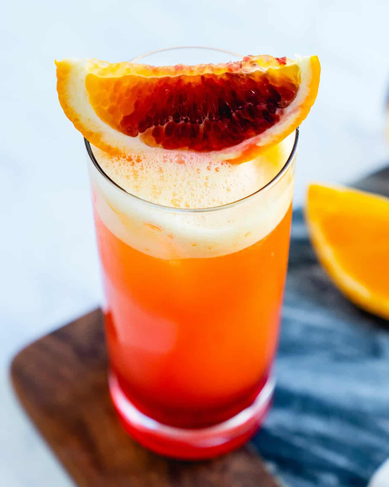 Garibaldi Cocktail by A Couple Cooks