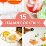 Italian Cocktails: 15 Drinks Recipes Inspired by Italy // FoodNouveau.com