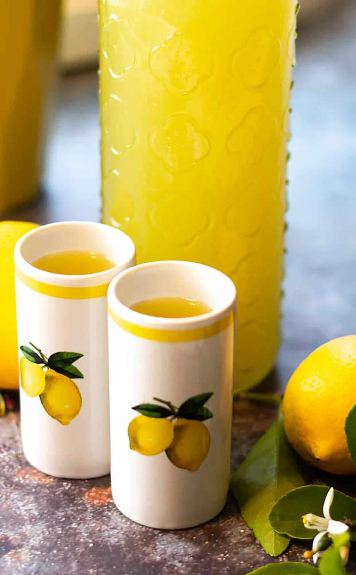 Homemade Limoncello by Hilda's Kitchen Blog
