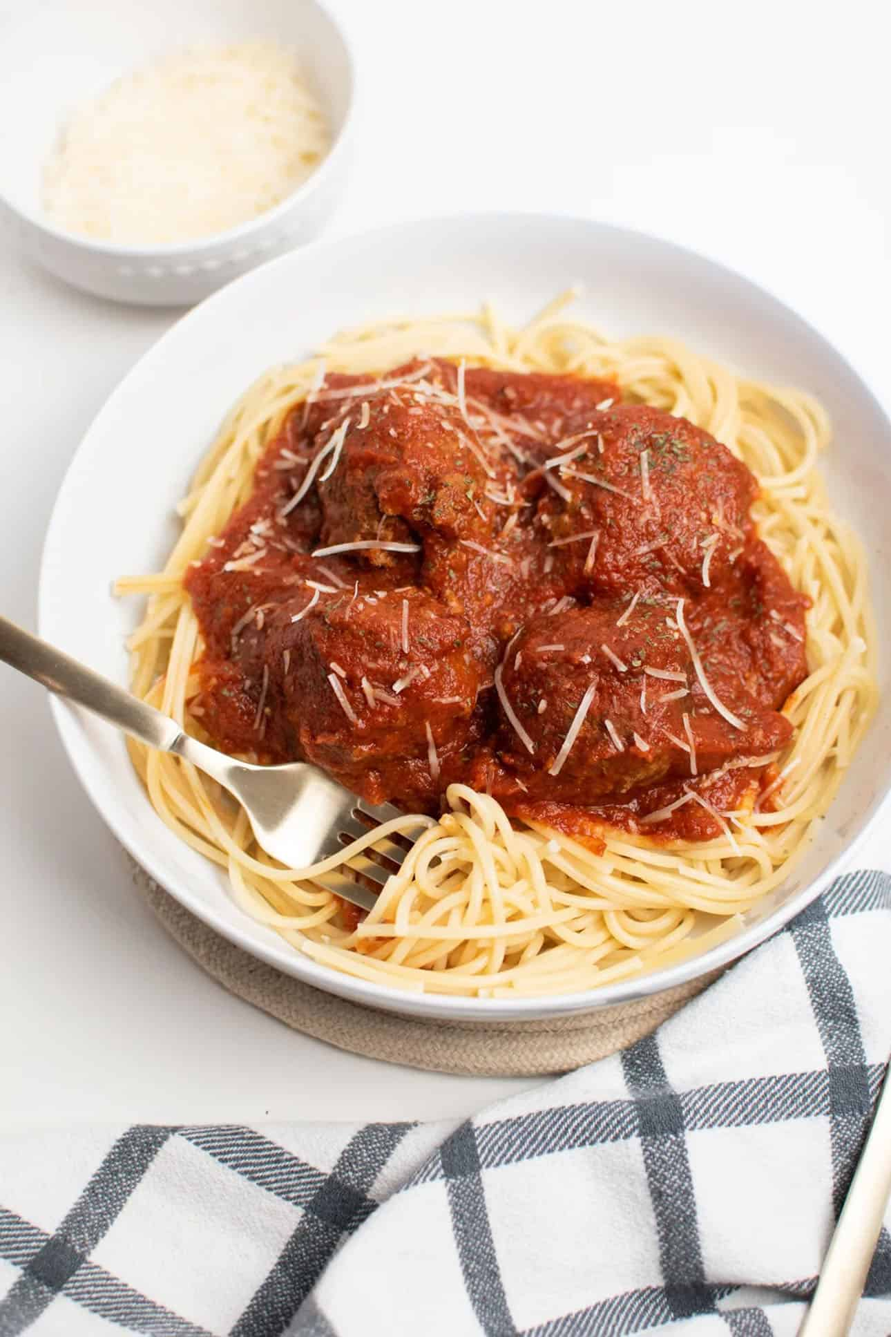 Spaghetti and Meatballs by Ashcroft Family Table