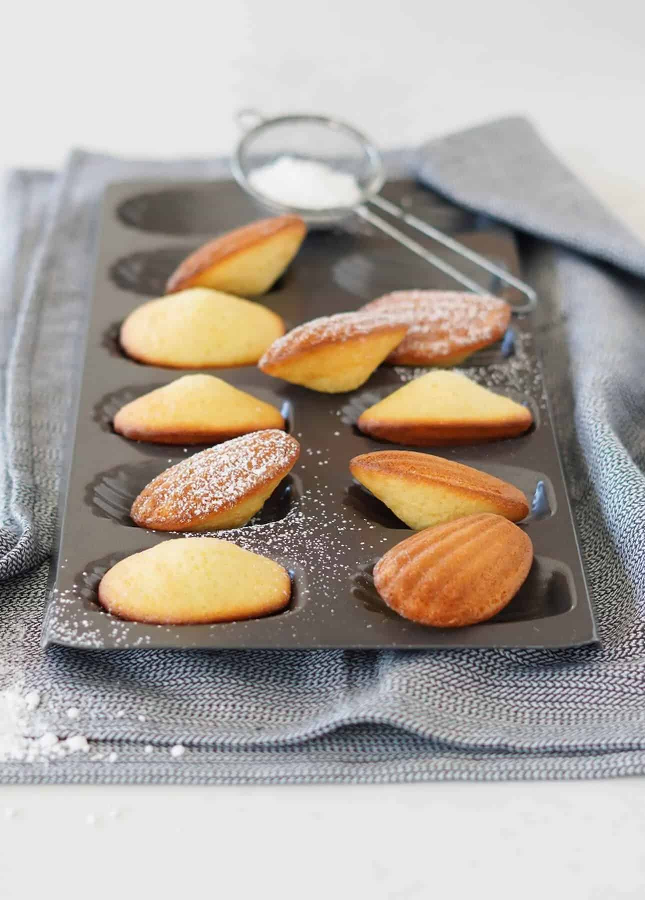 Classic Madeleines by Food Nouveau
